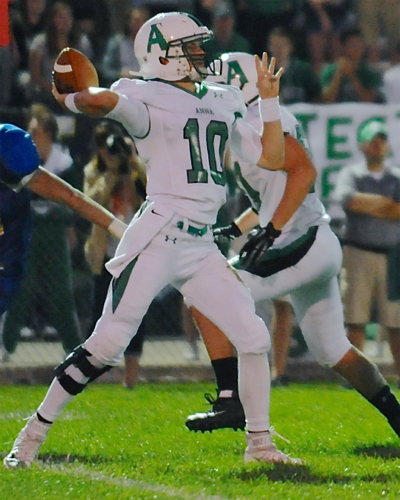 Senior  QB Travis Meyer will be ready  to throw for the Rockets