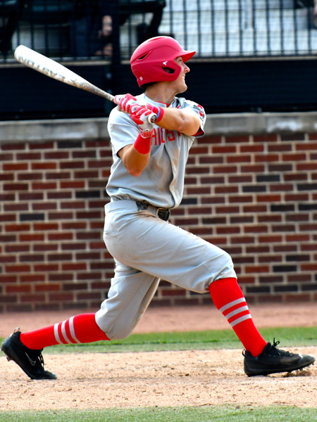 Canzone, from Walsh Jesuit High School, led OSU with a .343 average as a freshman.