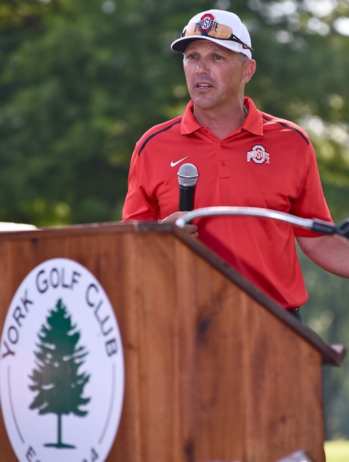 "Buckeye coach Greg Beals rallied the alumni with this pledge:  ""I can"