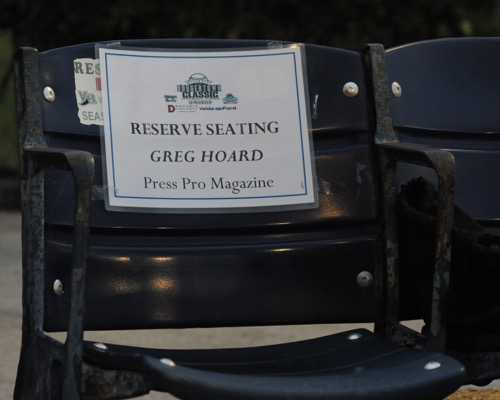 Hoard's reserved seating
