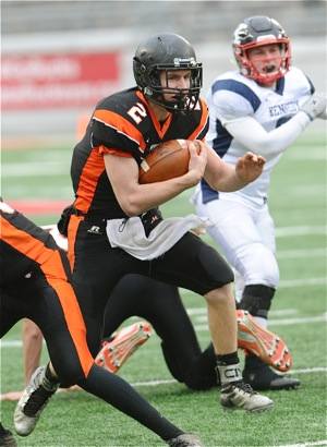Senior quarterback Jared Huelsman is a born leader, and has enough weapons around him to make Minster a team to respect...again!