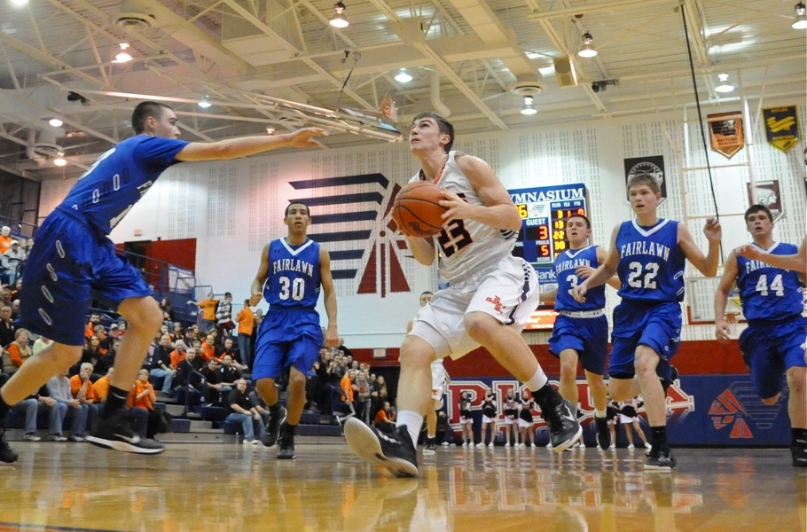Jackson Center Smothers Fairlawn In Sectional Semi-Final