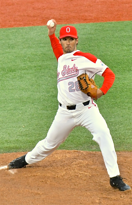 Yianni Pavlopoulos was sterling, throwing five shutout innings and giving up just two hits.
