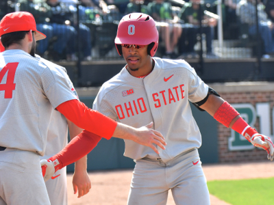 Jalen Washington's ninth inning homer pulled the Buckeyes to within a single run.