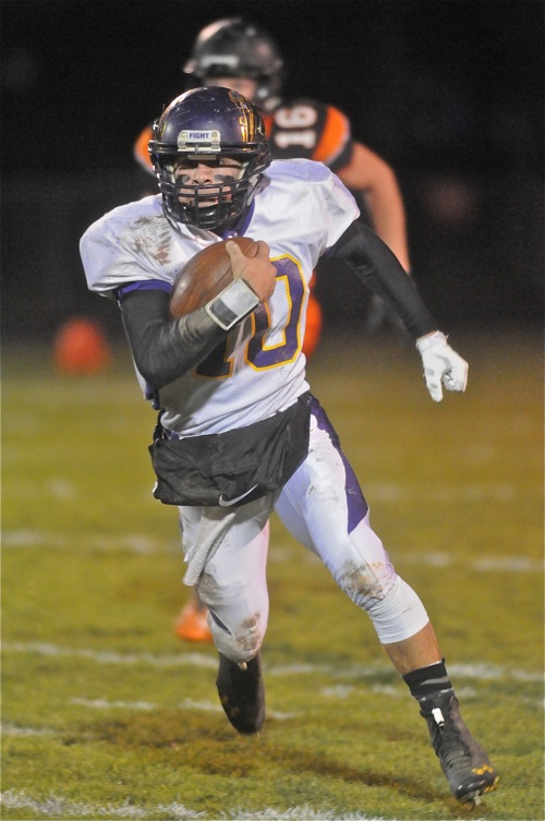 Romero tormented Minster defenders in last year's matchup...28 carries, 154 yards, and one touchdown.