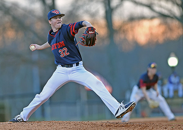 Freshman R.J. Wagner showed considerable upside in his two innings of relief work.