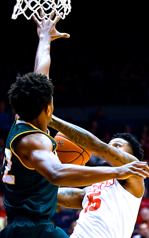 """""""He cashed in tonight and probably won the game for us."""" - Coach Archie Miller"""