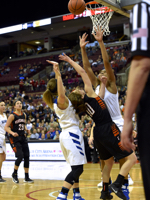 In Division III:  Versailles Runs Out Of Time, Falls to Gilmour