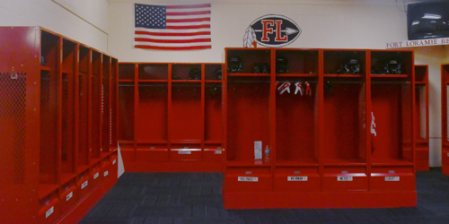 New and improved locker rooms for the Redskins...