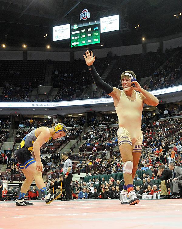State Wrestling:  Romero Treats The Schott…