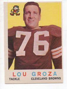"Remembering Lou ""The Toe"" Groza….."