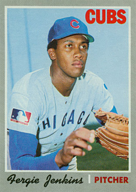 Arguably, the greatest Cubs pitcher of all time...Ferguson Jenkins routinely won 20 games a season, but never saw the World Series.