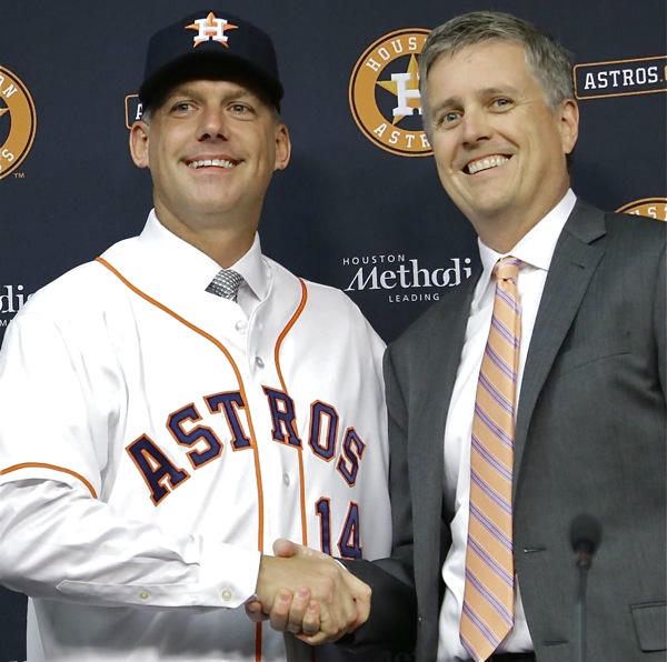 What Do We Learn From The Astros, Luhnow, Hinch