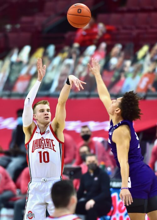 Ahrens' Three-Pointer Spares OSU A Colossal Collapse