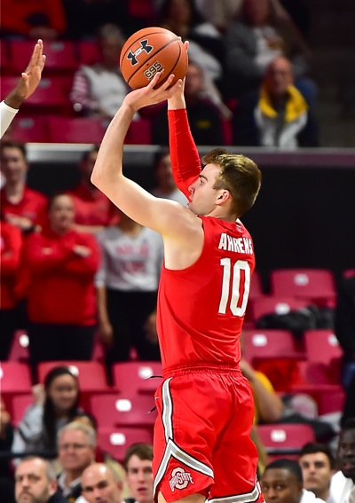 No Farewell To Ahrens…Soph Returns From Back Injury