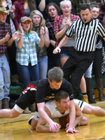 Number One Goes Down:  Anna Hands Fort Loramie First Loss