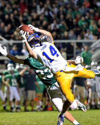 Marion Survives Turnovers, Defeats Anna, 17-14