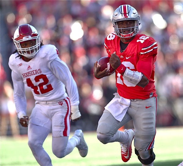 Buckeyes Pull Away From Pesky Indiana