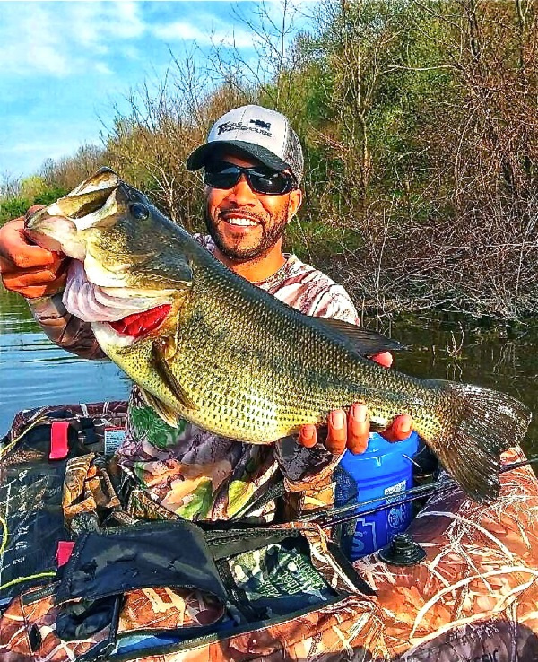 Jim Abrams:  A Little Fishing…With 'Bass' Curtis