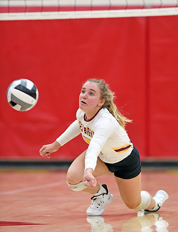 To Serve, To Receive…New Bremen Beats Coldwater