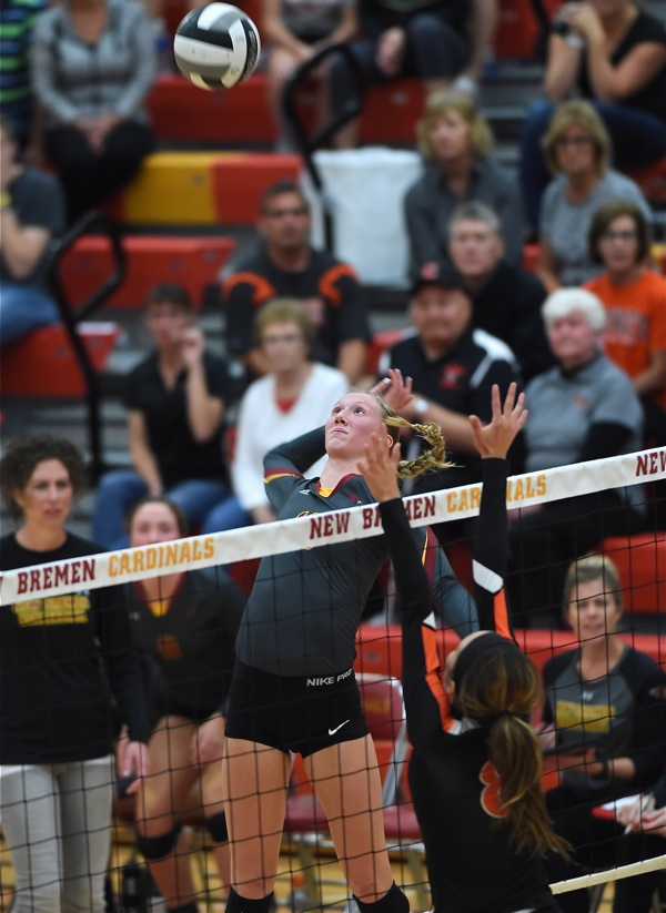 """A Little """"Wow"""" With Your Volleyball?…New Bremen Takes Down Coldwater"""