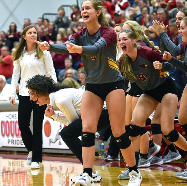 Seeing Red:  #1 St. Henry Squanders Early Lead, Falls To New Bremen In District Final
