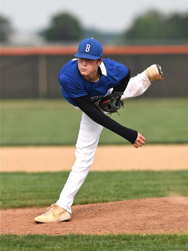 Nearly 'No-No'…Jones Pitches Brookville To District Final