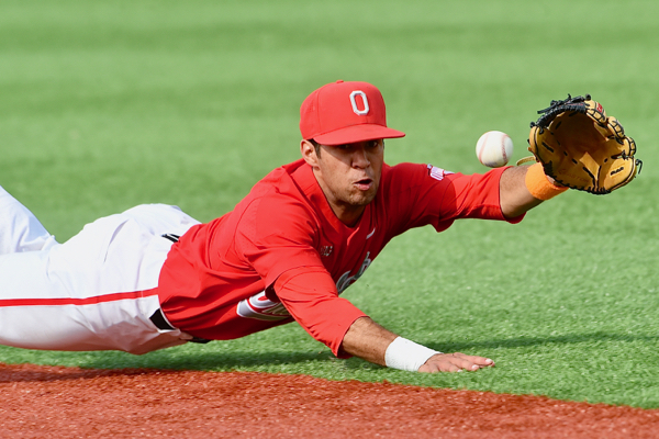Freshman Noah West continues to play steady at second base and had his first collegiate home run on Saturday.