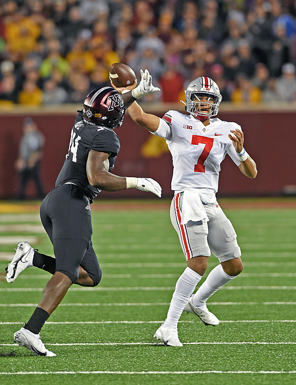 Ohio State Routs Rutgers Behind Stroud, Defense