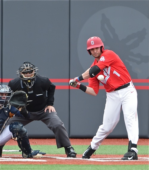 Brady Cherry's leadoff double in the bottom of the eighth proved to be the winning run.  He later scored on a wild pitch.