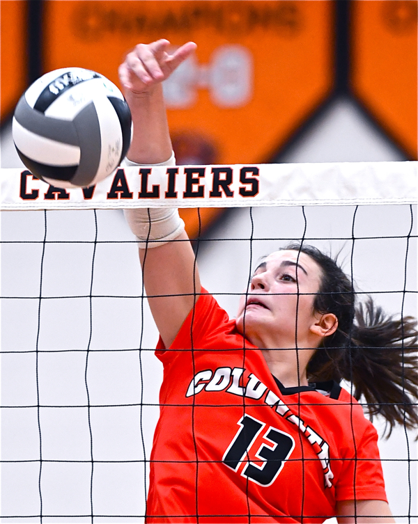 Coldwater Sends St. Henry Home Empty…In Straight Sets