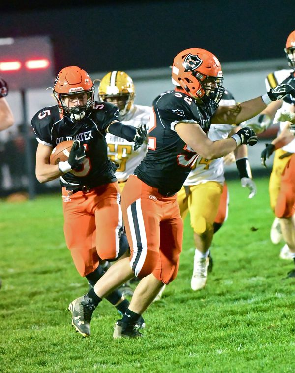 Any Questions?  Coldwater Roughs Up Riders To Advance