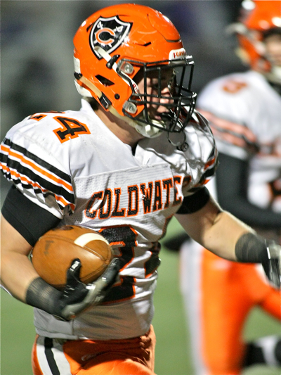 Junior Brad Giere took Thobe's hand-off up the middle for a 51-yard touchdown.