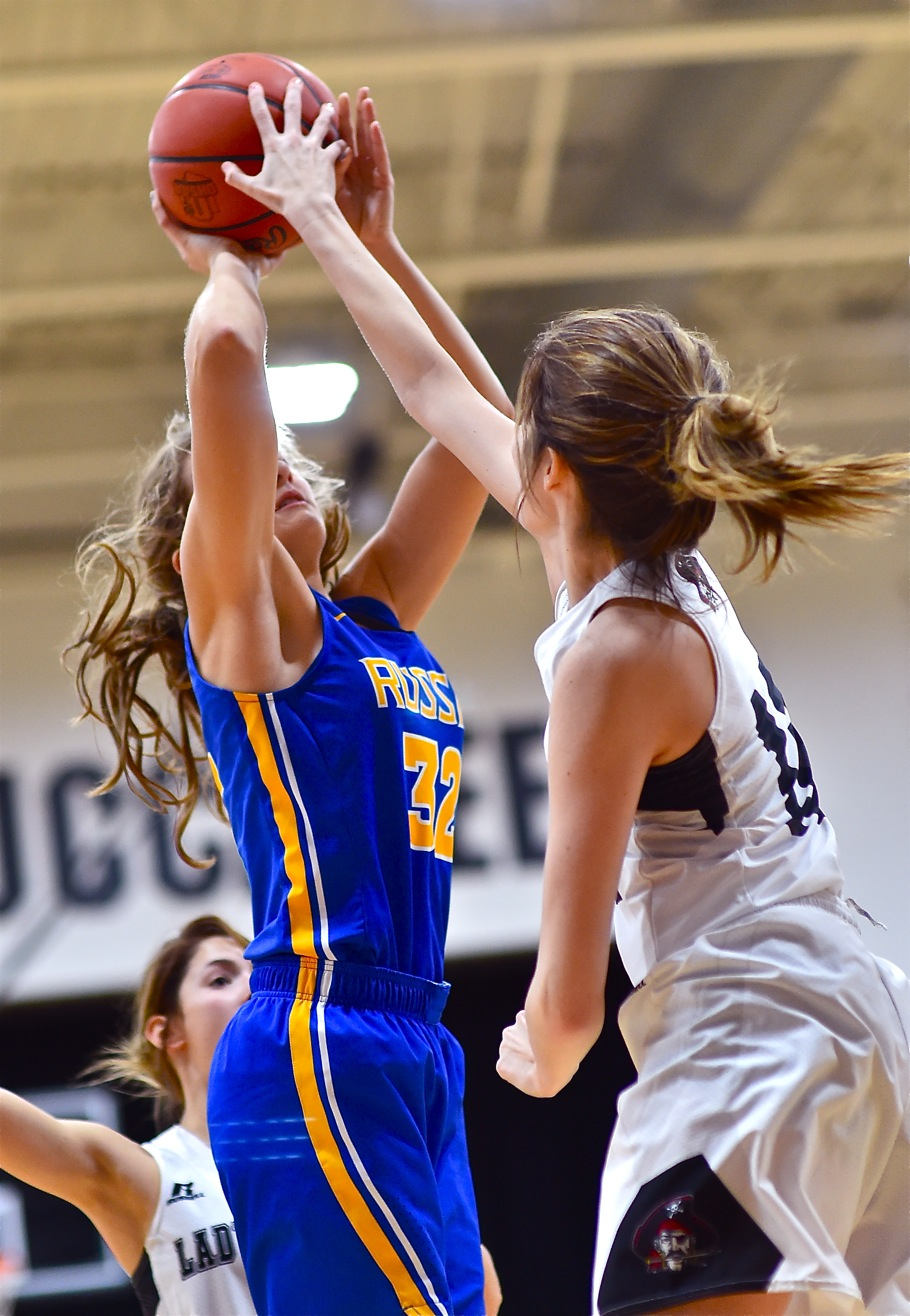 Basketball At Its Hardest…Covington Grinds Over Russia