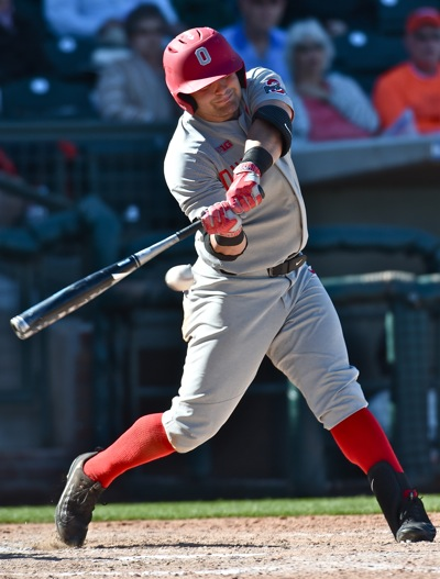 Tyler Cowles' homer (his first as a Buckeye) accounted for the Bucks' only scores.