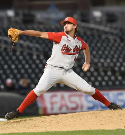 Connor Curliss pitched scoreless baseball over the game's final three frames.
