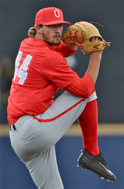 Connor Curlis continues to develop consistency as a starter, pitching the first six innings.