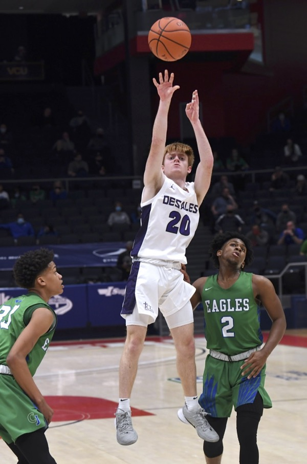 This Mann May Be Little, But He's Big In DeSales' Advance