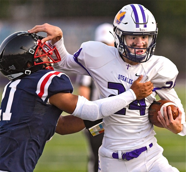 Hartley Settles Year-Long Grudge With Win Over DeSales