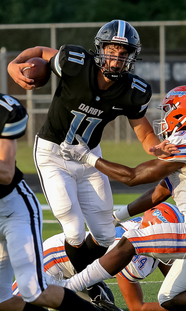 Darby's Youthful Defense Puts 17-0 Squeeze On Orange