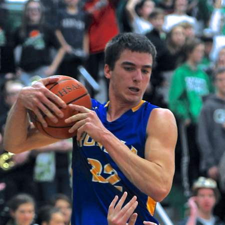 A pair of Raider - Cole Tebbe free throws gave Russia a 42-41 lead to set up a frantic finish.
