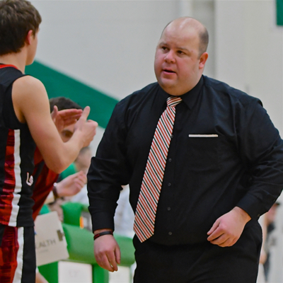 """""""One too many mistakes, every time we made a mistake, Russia took advantage of it."""" - Loramie head coach Corey Britton."""