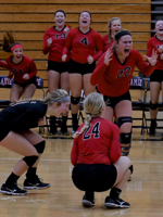 Tables Turned:  Loramie Shuts Out Russia In SCL Volleyball
