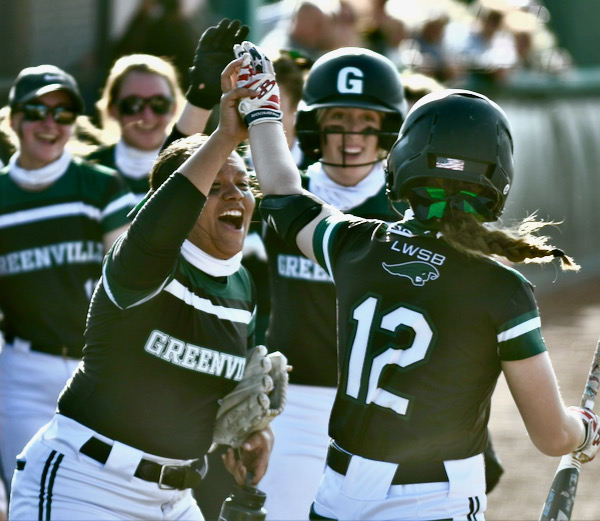 Greenville Rallies Past Troy For Two-Day Sweep