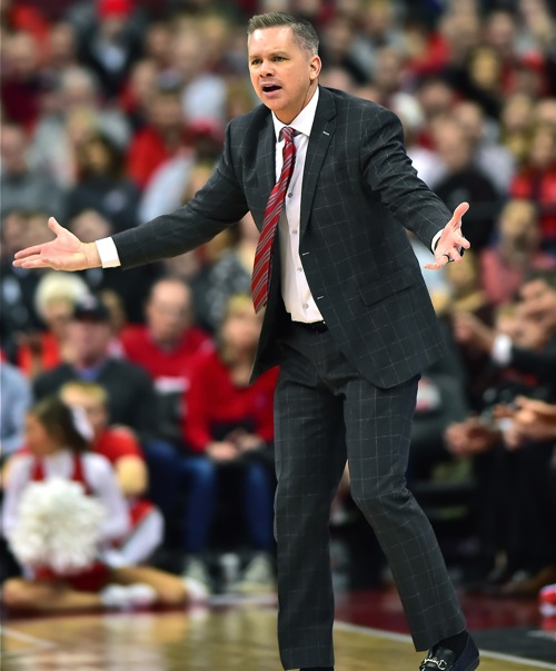 Holtmann Ejected Amid Ohio State Collapse In Loss to MSU