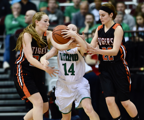 Tiger turnovers contributed to a big third quarter by Waterford.