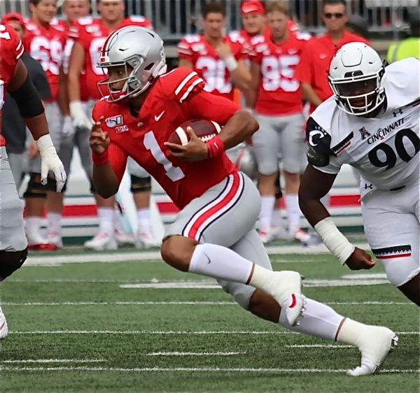 Buckeyes Tested But Win Again To Stay Undefeated
