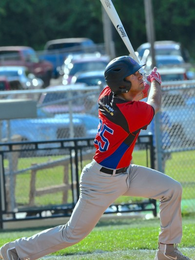 Sophomore Noah West had a hit, a run scored, and played solid defense at shortstop.