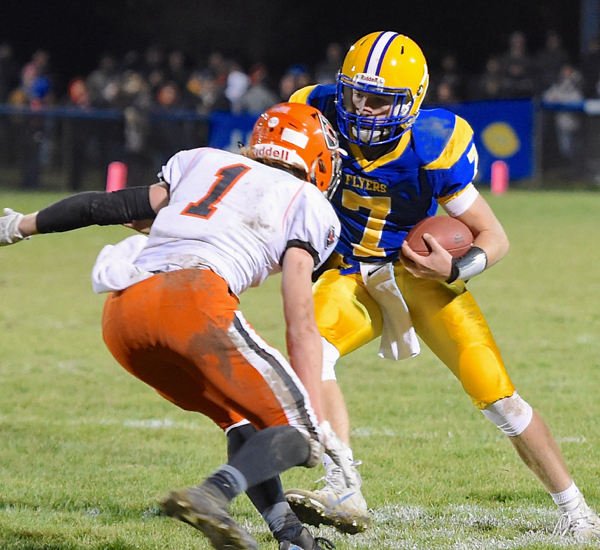 Title Towns … Flyers Forge Three-Way Tie For MAC Crown