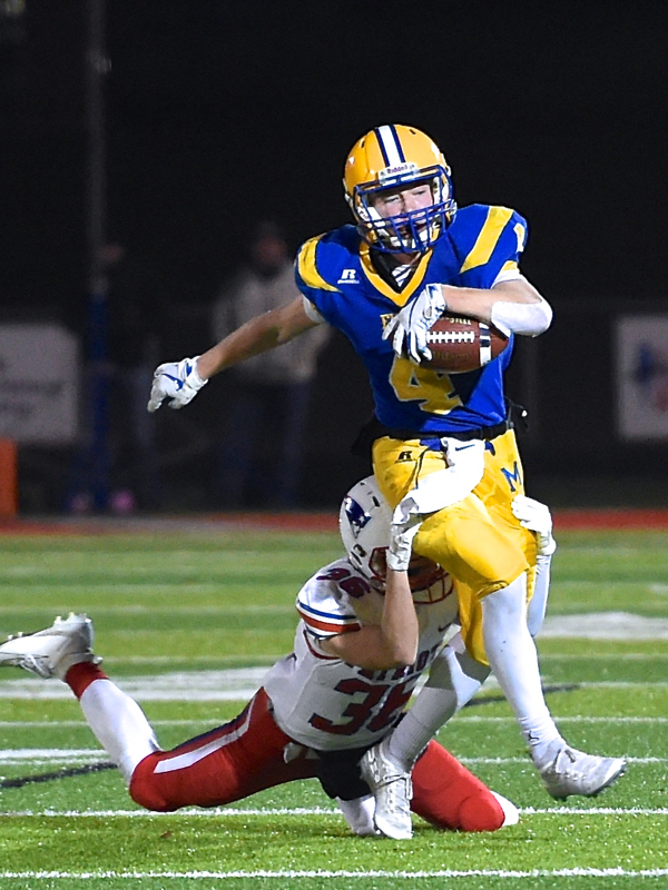 Marion, Big Plays, Blast Patrick Henry In State Semis